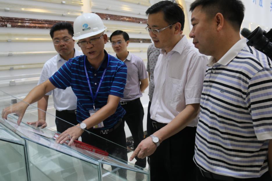 市委常委、常务副市长廖和明一行到贺州旺高工业区调研