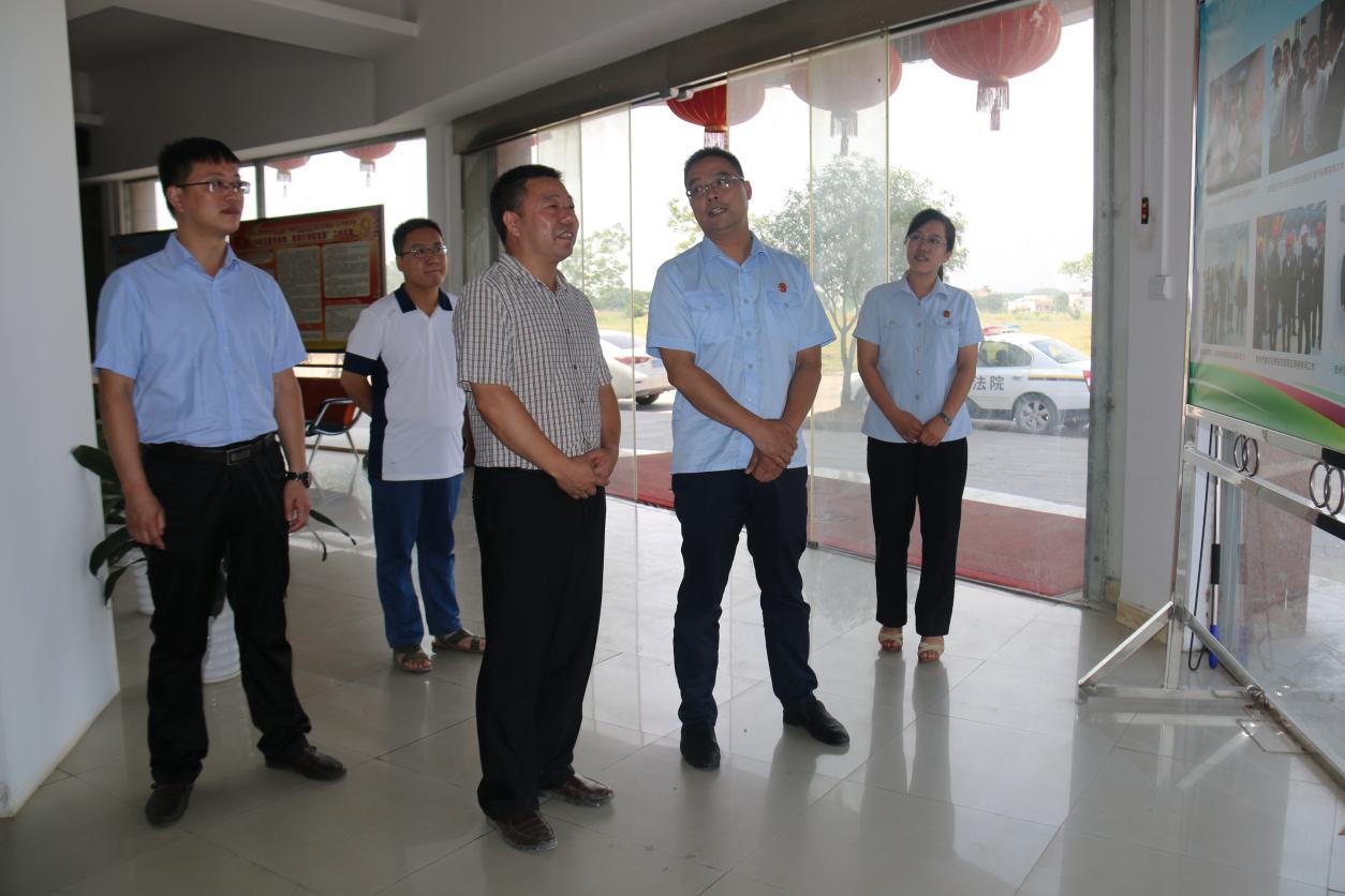平桂区法院首个巡回办案点在旺高工业区揭牌