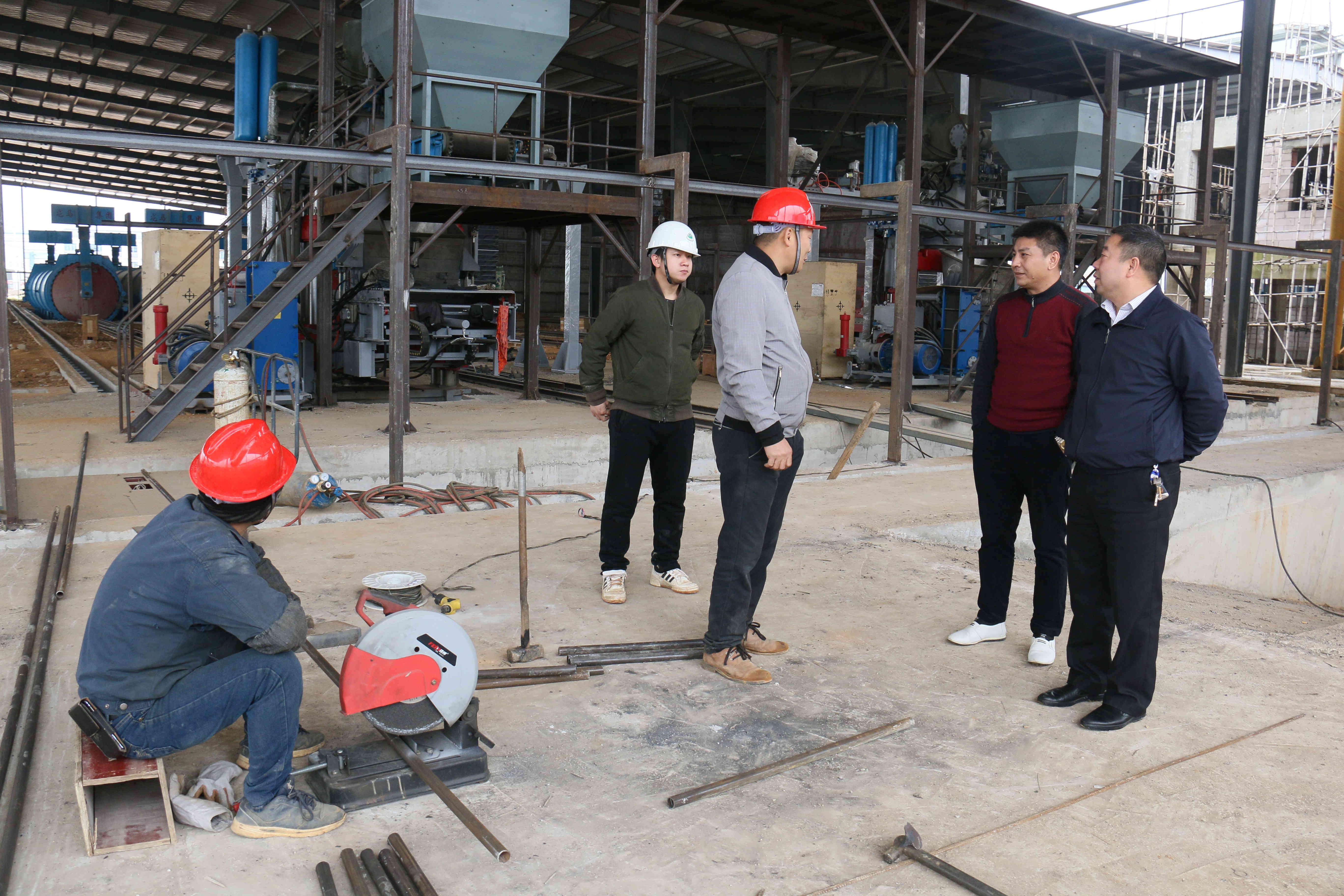 一石多吃,吃干用尽!贺州年处理30万吨大理石废浆项目即将试产!