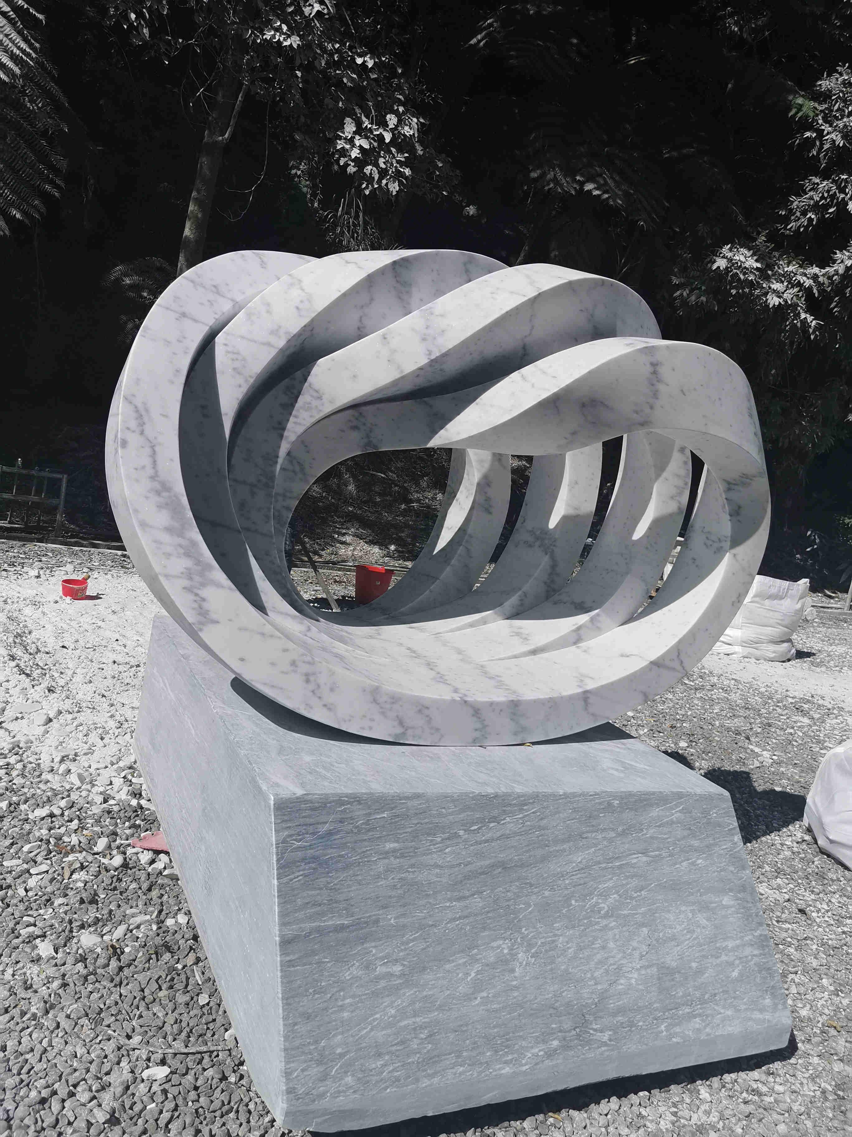 """【华丽变身】贺州白""""闪耀2019BenQ国际雕塑创作营"""