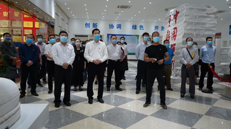 贺州市两新组织党建工作现场推进会在旺高工业区召开